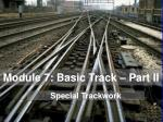Module 7: Basic Track – Part II
