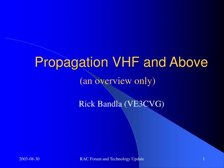 propagation vhf and above n.