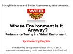 StickyMinds and  Better Software  magazine presents…