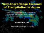 Very-Short-Range Forecast of Precipitation in Japan