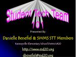 Student Tech Team 101