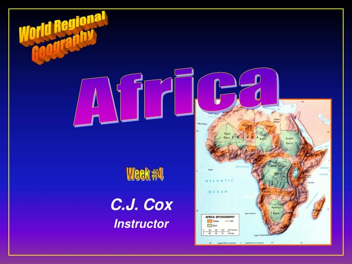 c j cox instructor n.