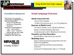 Turing Machine based Script Language