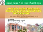 """Ngày 30 tháng 11 năm 2012 """"Chia sẻ kinh nghiệm về xây dựng Khung pháp lý TCVM"""" Hà Nội, Việt Nam"""
