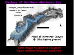 Geology of Southern Monterey Bay