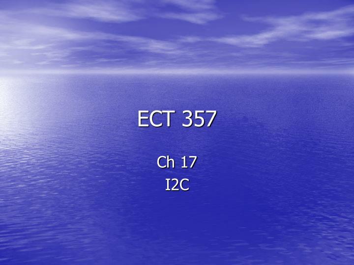ect 357 n.