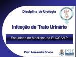 Disciplina de Urologia
