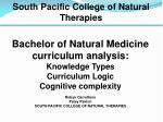 South Pacific College of Natural Therapies