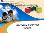 MATA PELAJARAN TEKNOLOGI MAKLUMAT DAN KOMUNIKASI (TMK) TAHUN 5 2014