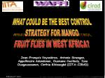 West African Fruit Fly Initiative