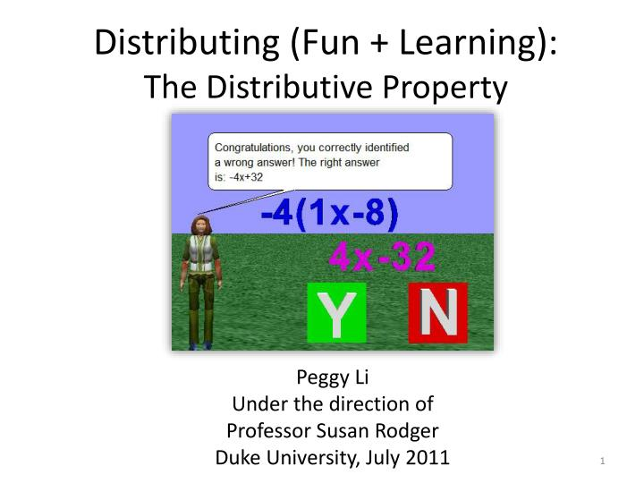 distributing fun learning the distributive property n.