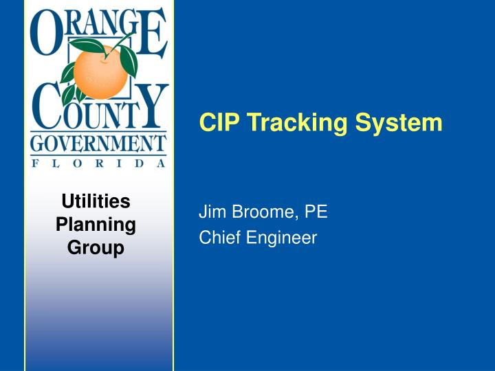 cip tracking system n.