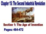Chapter 15: The Second Industrial Revolution