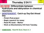 Thursday 2/24/11