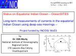 Status on Equatorial Indian Ocean – OceanSITES