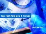 Top Technologies & Trends