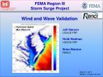 FEMA Region III Storm Surge Project