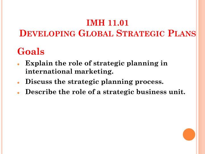 imh 11 01 developing global strategic plans n.