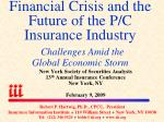 New York Society of Securities Analysts 13 th Annual Insurance Conference New York, NY