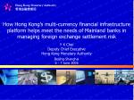 Y K Choi Deputy Chief Executive Hong Kong Monetary Authority Beijing‧Shanghai 6 - 7 June 2006