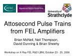 Brian McNeil, Neil Thompson, David Dunning & Brian Sheehy