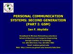 Introduction to GSM: Mobile Phone Subscribers Worldwide