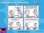 Faglig læsning i matematik