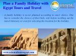 Plan a Family Holiday with Egypt Tours and Travel