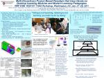 Multi-Disciplinary Project-Based Paradigm that Uses Hands-on