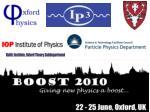 22-25 June 2010,  University of Oxford