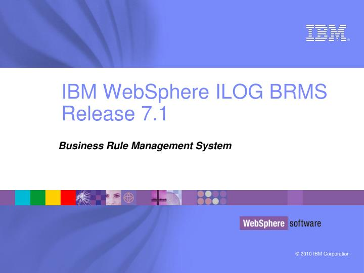 ibm websphere ilog brms release 7 1 n.