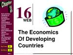 The Economics Of Developing Countries
