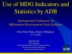 Kaushal  Joshi Senior Statistician Development Indicators and Policy Research Division,