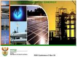 DEVELOPMENT OF THE SOUTH AFRICAN NATIONAL SOLAR WATER HEATING STRATEGY & IMPLEMENTATION PLAN