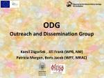ODG Outreach and Dissemination Group