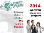 Amway  Makes it Possible. WE  Make it Happen!