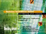 IA366 DDS Enterprise Application Framework