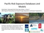Pacific Risk Exposure Databases and Models