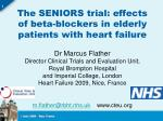 The SENIORS trial: effects of beta-blockers in elderly patients with heart failure