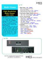"""▶ 구성    Main Frame :  MV - 200MF     3RU 19"""" Standard Rack Type  Dual Power Supply"""