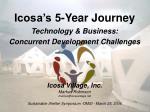 Icosa's 5-Year Journey