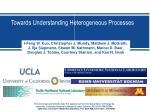Towards Understanding Heterogeneous Processes
