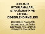1302960045 Pınar DURAN 1302090071 G. Can ÖZGÜR 1302090051 Kıvanç SABUNİŞ 1302090005 Füsun DOĞAN