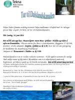 Tur til  Dalslandskanalen