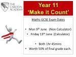 Maths GCSE Exam Dates Mon 9 th June (Non Calculator) Friday 13 th June (Calculator)