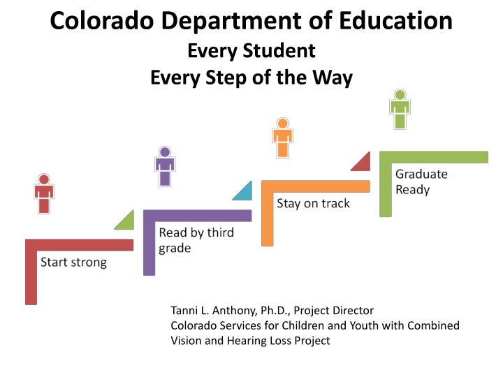 colorado department of education every student every step of the way n.