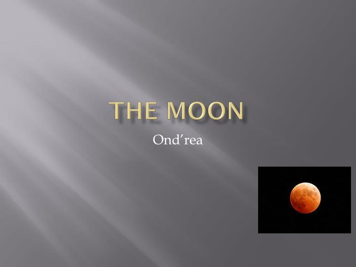 the moon n.