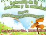 Exploración de la Naturaleza y la sociedad