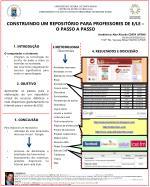 CONSTRUINDO UM REPOSITÓRIO PARA PROFESSORES DE E/LE – O PASSO A PASSO