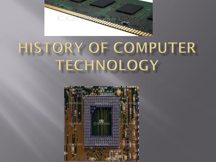 history of computer technology n.